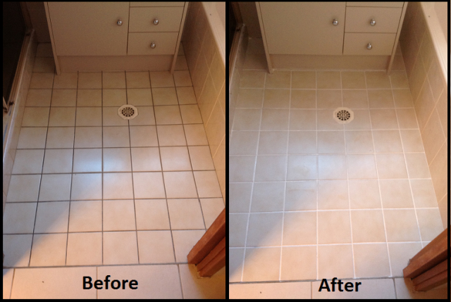 A Beginners Guide To Tile Amp Grout Cleaning And Re Colouring