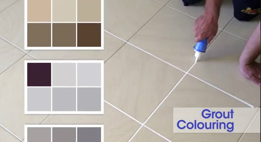 Image result for tiles grout colour